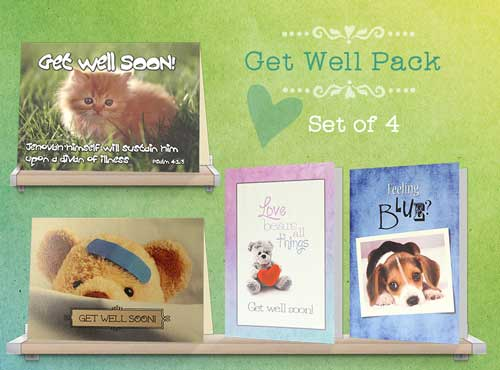 Assorted Feel Better Cards