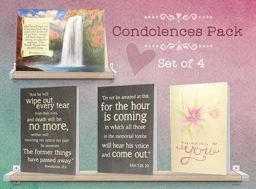 Condolence Greeting Cards