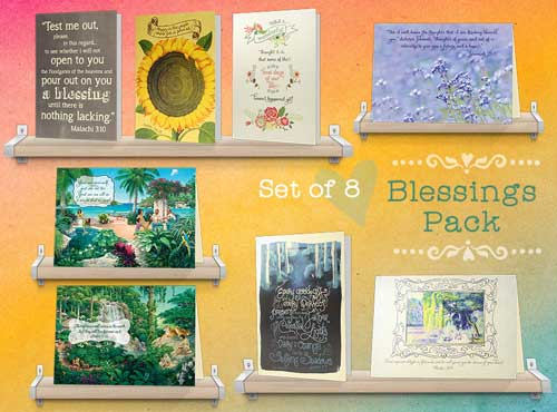 Eight Assorted Comforting Greeting Cards