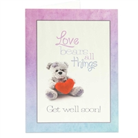 Get well soon Scriptural Greeting Card