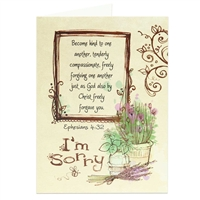 I'm Sorry Scriptural Greeting Card