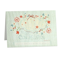 Welcome to our congregation Scriptural Greeting Card