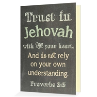 Trust in Jehovah with all your heart