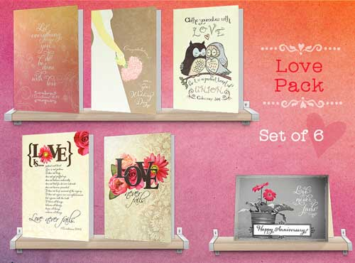 Wedding Cards and Anniversary Cards