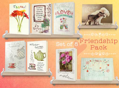 Christian Friendship Greeting Cards