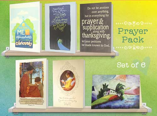 Psalms and Prayers greeting cards
