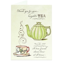 Thank you for your hospitality Scriptural Greeting Card