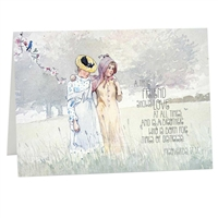 A True Friend Shows Love at All Times Scriptural Greeting Card