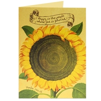 Happy Sunflower Scriptural Greeting Card