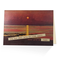 Never Give up Hope! Scriptural Greeting Card
