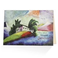 House of Jehovah Scriptural Greeting Card